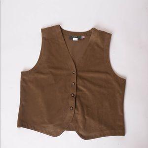 Vintage Orvis Men's button up vest Large